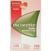 nicorette fruits 2 mg sans sucre