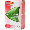 nicorette fruits 4 mg sans sucre